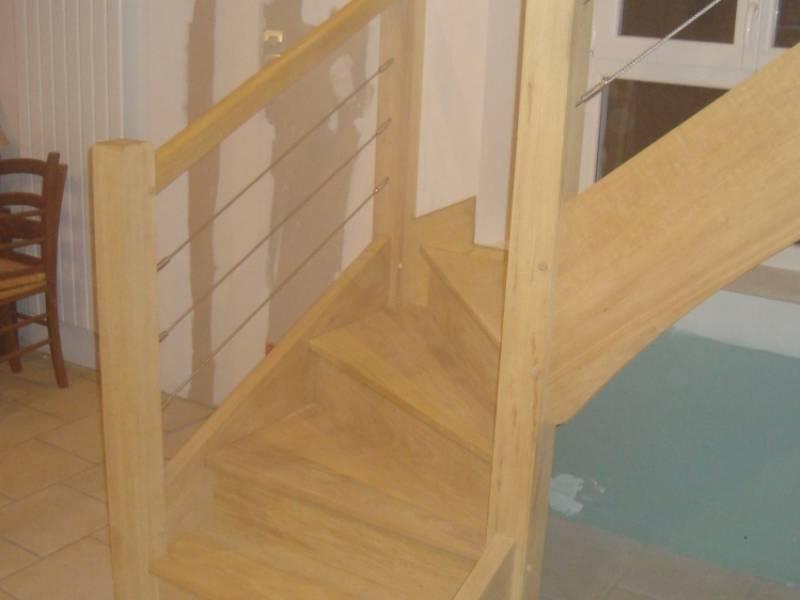 Escalier Bois Sur Mesure Fabrication 28