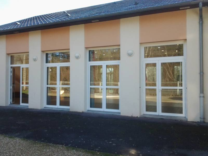 Portes Fenetres Sur Mesure Aluminium Pour Salle Des Fetes